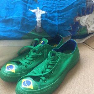 Brazil Green Converse